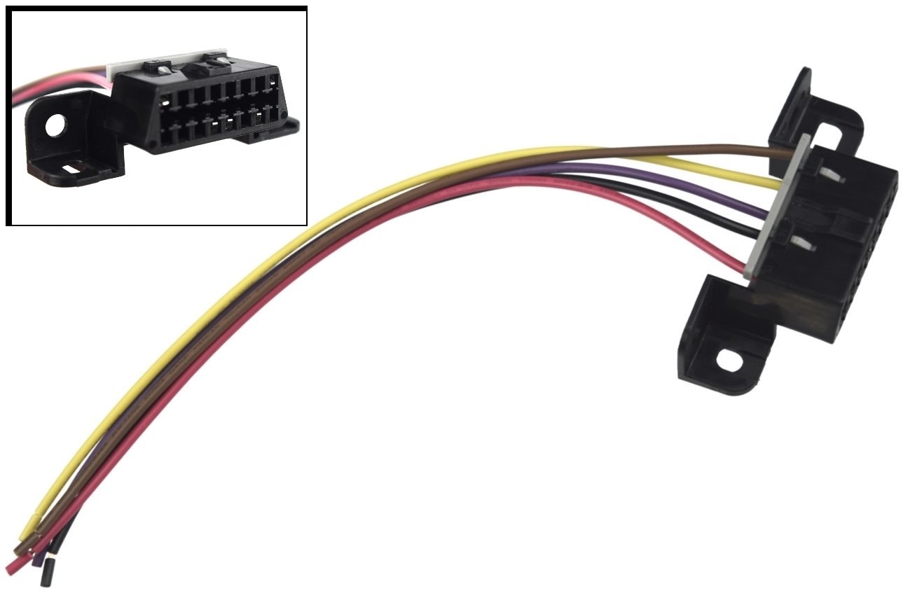 OBD2 Dash Port / Wire Pigtail Connector Plug In, 551256