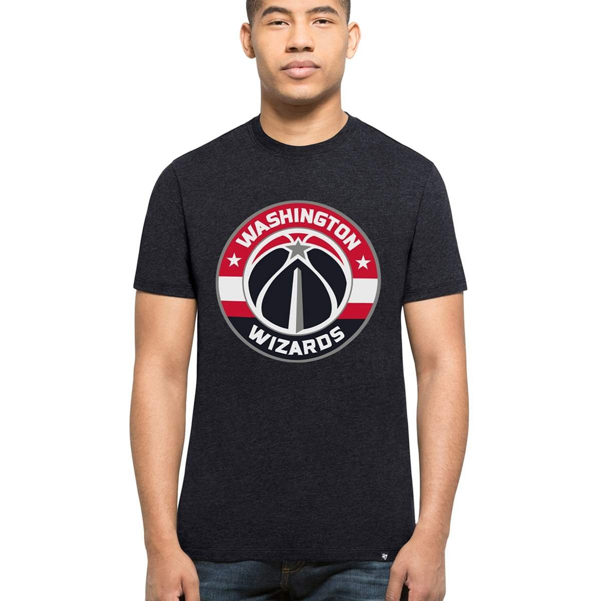 '47 Brand Washington Wizards Club NBA T-Shirt Navy '47 Brand
