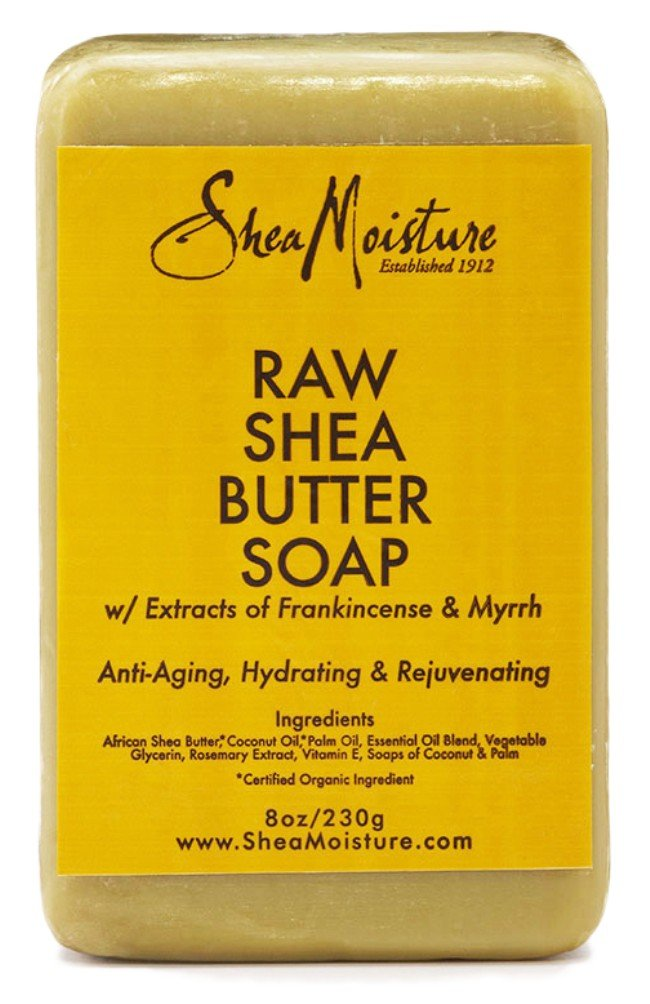 Shea Moisture Soap 8oz Bar Raw Shea Butter (6 Pack)