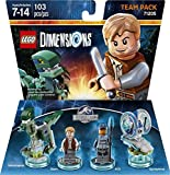 Best Knife Set In The Worlds - Jurassic World Team Pack - LEGO Dimensions Review