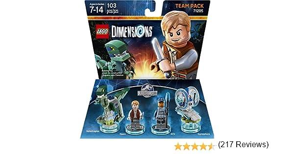 Jurassic World Team Pack - LEGO Dimensions by Warner Home Video - Games: Amazon.es: Juguetes y juegos