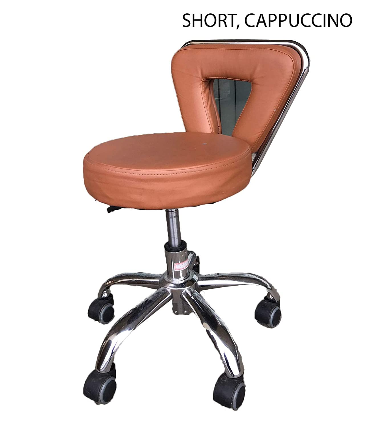Amazon.com: Spa Chair Pedicure Stool for Nail, Hair, Facial Technician (Short, Black): Beauty