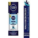 Nivea Men Active Fresh Duo Body Deodorizers, 100ml