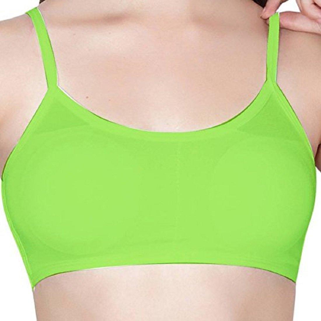 64f96dc3e2be8b Shoppy Villa Women s Cotton 6 Straps Padded Bralette Bra