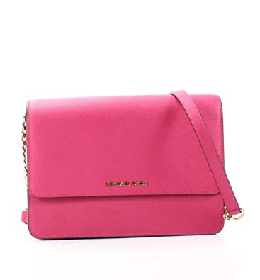 9a88b9997213 MICHAEL Michael Kors Daniela Large Gusset Crossbody, Ultra Pink ...