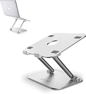 Urbo Zee Laptop Stand with Fully Customizable Viewing Angles and Heights for Elevating Projectors and Any Laptop, Notebook or Tablet for Better Ergonomics
