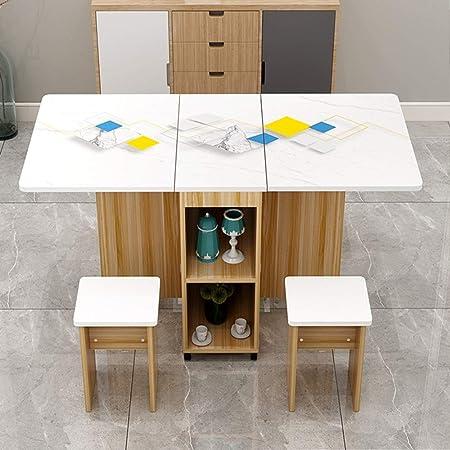 Exclvea Table De Cuisine Moderne Et Elegante Table Pliante Table A