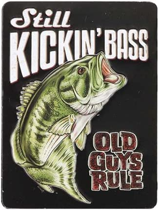 Old Guys Rule Kicking Bassマグネット