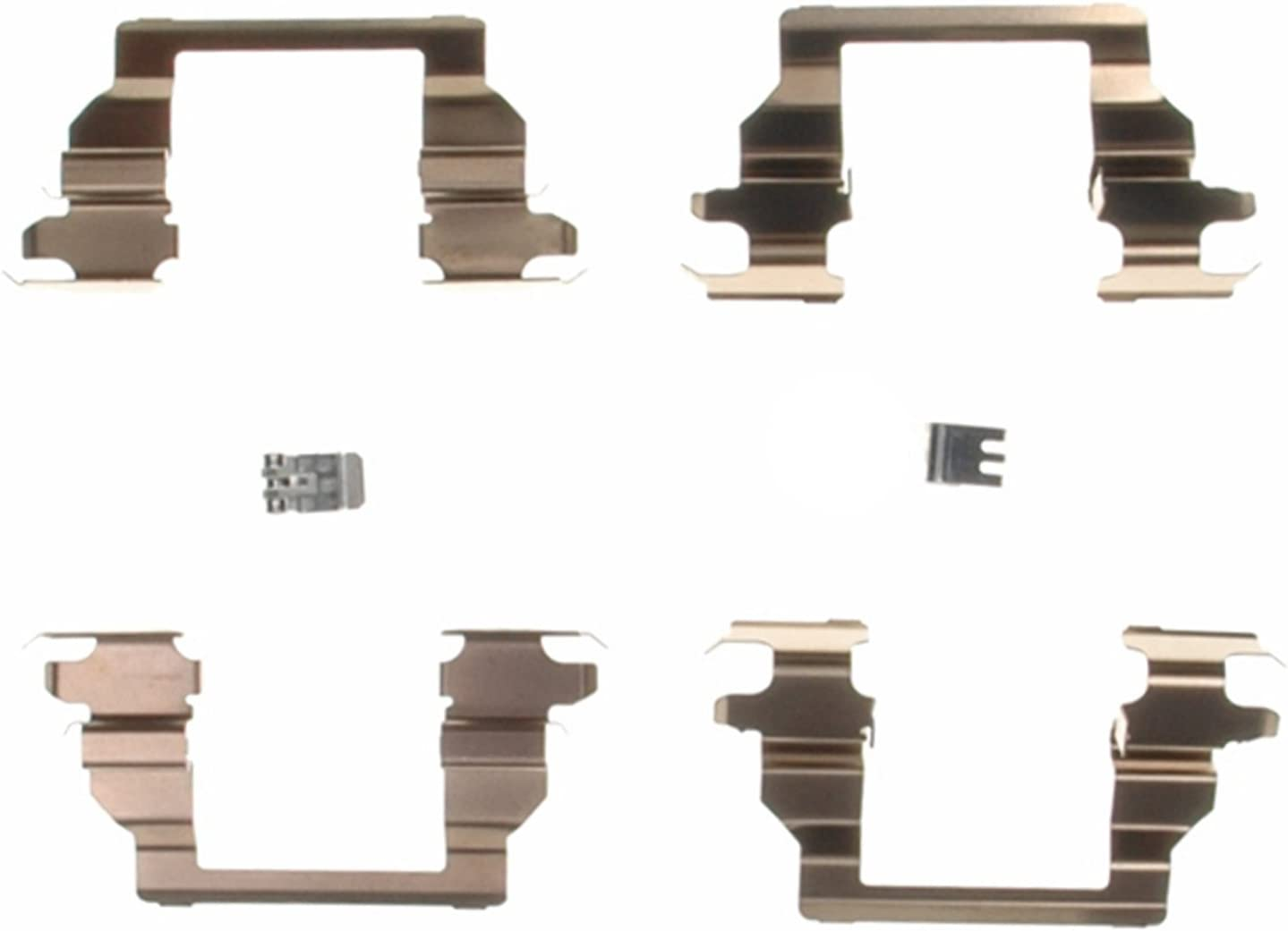 ACDelco 18K886X Professional Front Disc Brake Caliper Hardware Kit with Clips