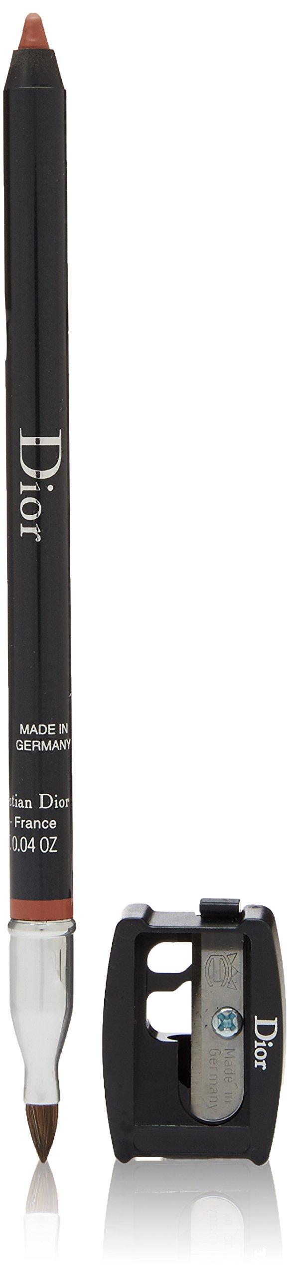 Christian Dior Contour Lip Liner Pencil for Women, 532/Jungle Brown, 0.04 Ounce