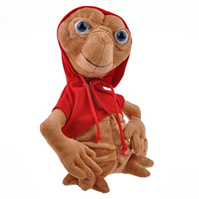 "TANZK 9"" ET Plush Toy Extra-Terrestrial Film Alien Stuffed Doll Red Coat Rare Collect: Toys & Games"
