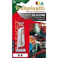 Rojo de silicona de alta temperatura sellante adhesivo
