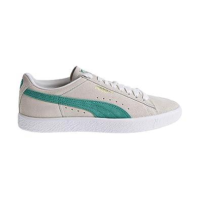 b983ac25c80 PUMA Suede 90681 Men s Shoes Whispher White Green Flash White 365942-06 (