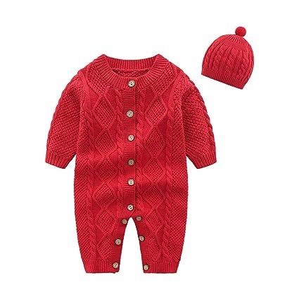 Amorar - Mono para recién Nacido, para bebé, niña, otoño, Invierno ...