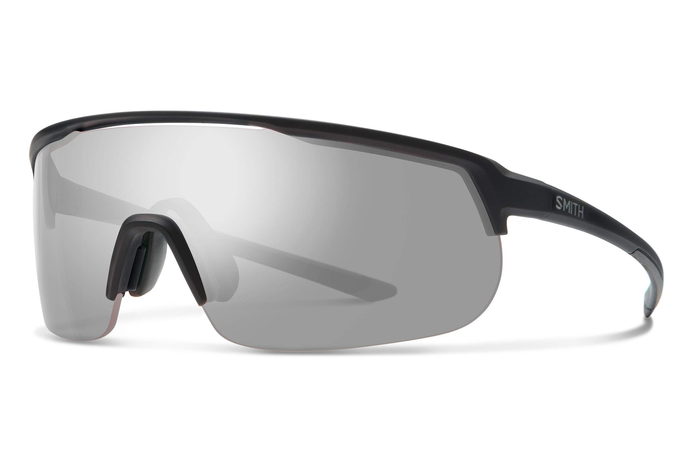 Smith Track Stand Chromapop Sunglasses, Matte Black, Chromapop Platinum/Contrast Rose