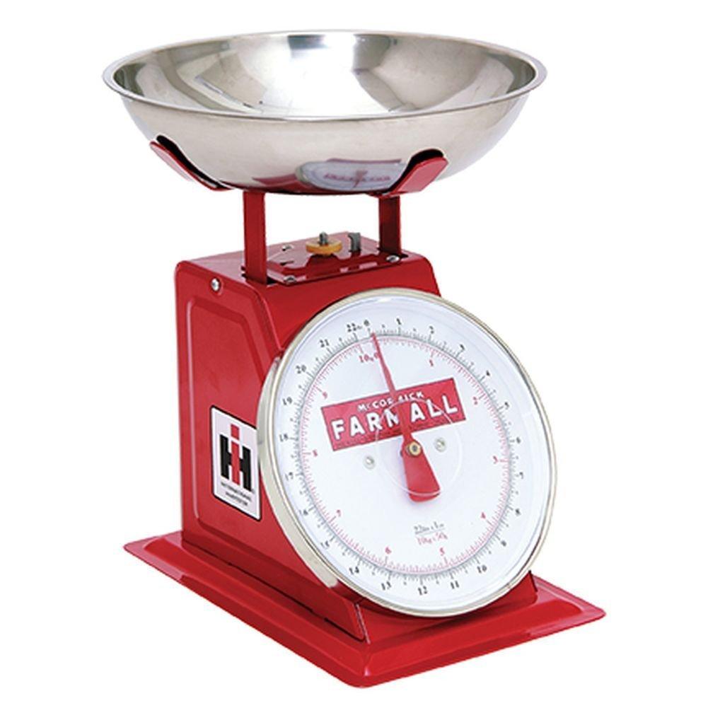 Farmall Vintage Metal Red IH Produce Scale Key Enterprises Inc
