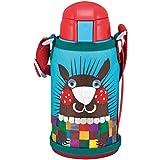 TIGER 虎牌 儿童型不锈钢真空保温杯(保温保冷杯 吸管杯盖两用杯)MBR-S06C(A)小针鼹 600毫升