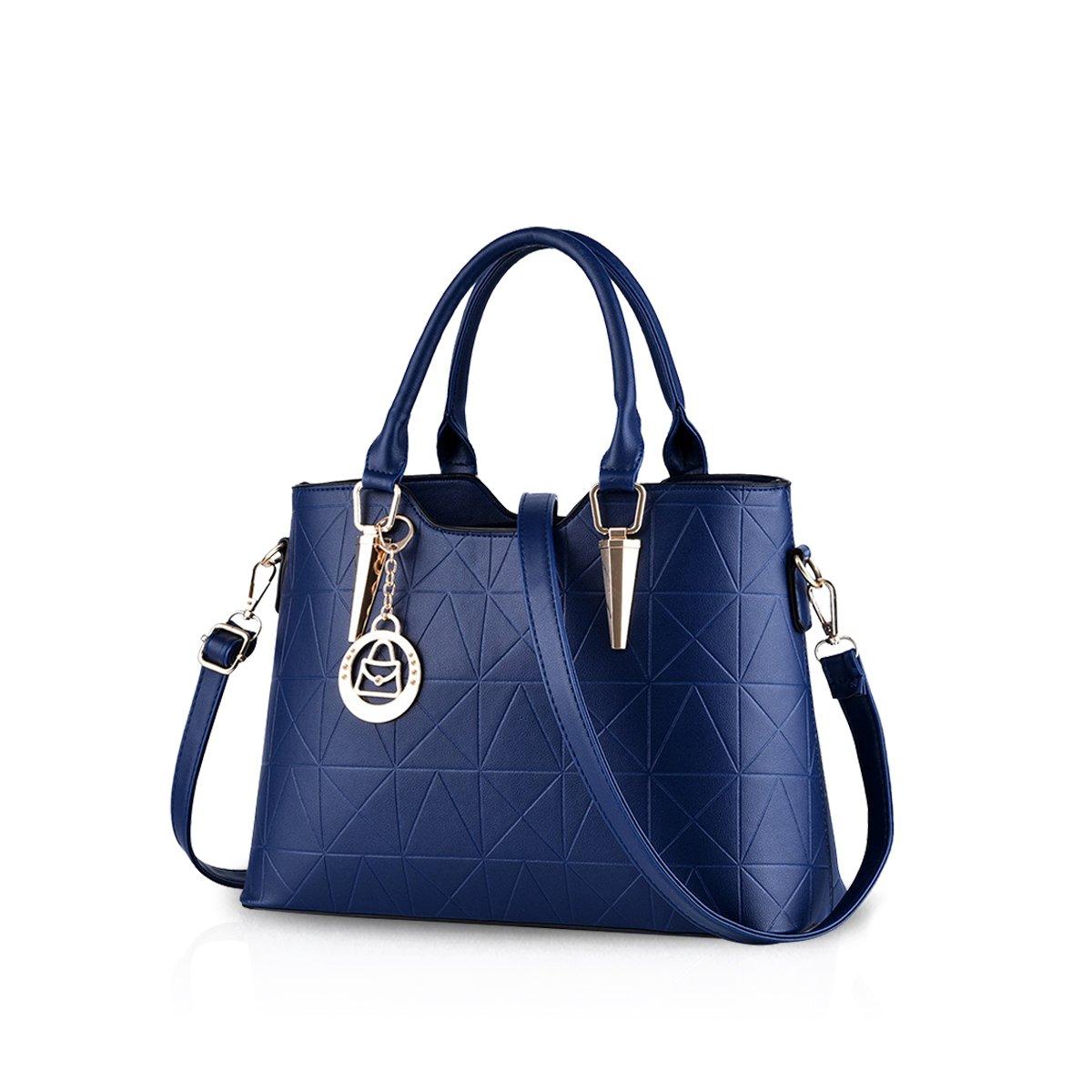 713cce0346a6 Nicole Doris 2016 new faishon style handbag casual shoulder bag cross-body  work bag purse for ladies(Sapphire)