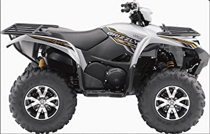 2017 Yamaha Grizzly >> Amazon Com Vip Air 9208 Yamaha Grizzly 700 2017 Matte Silver