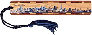 product image for Personalized New York City Skyline - Color Wooden Bookmark with Tassel
