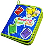 Early Learning Basic Life Skills Toys Quiet Book,Montessori Learn to Dress Boards Toys Quiet Book - Zip, Snap, Button, Buckle, Lace and Tie,Educational Toy For Toddlers