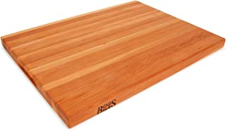 product image for John Boos Block CHY-R02 Cherry Wood Edge Grain Reversible Cutting Board, 24 Inches x 18 Inches x 1.5 Inches