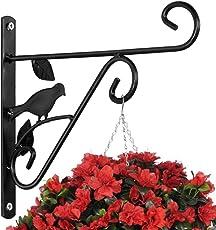 AMAGABELI GARDEN U0026amp; HOME Hanging Plants Bracket 10u0027u0027 Wall Planter Hook  Flower Pot