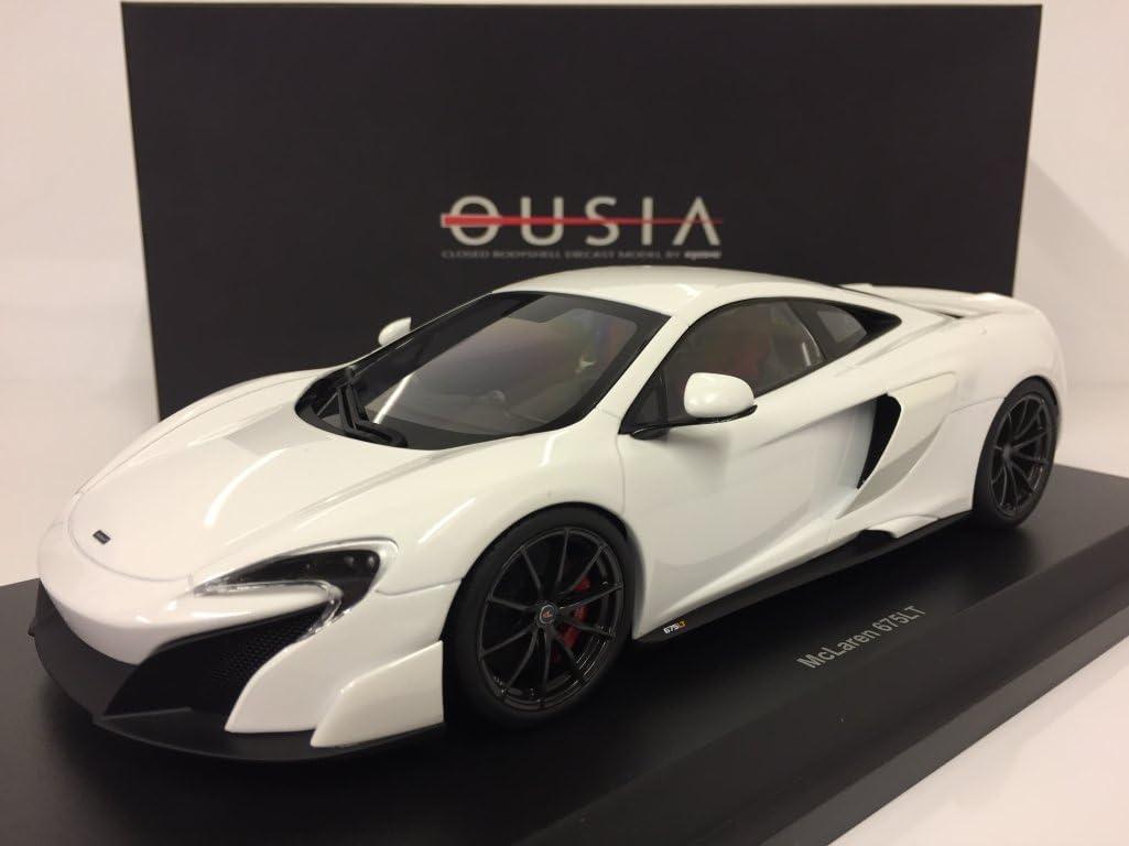 McLaren 675 LT weiss 2015 diecast 1:18 Kyosho OVP NEU 09541W