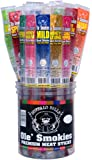 "Buffalo Bills 1.25oz Mixed Individually Wrapped 9"" Ole' Smokies (30 assorted meat sticks per tub)"