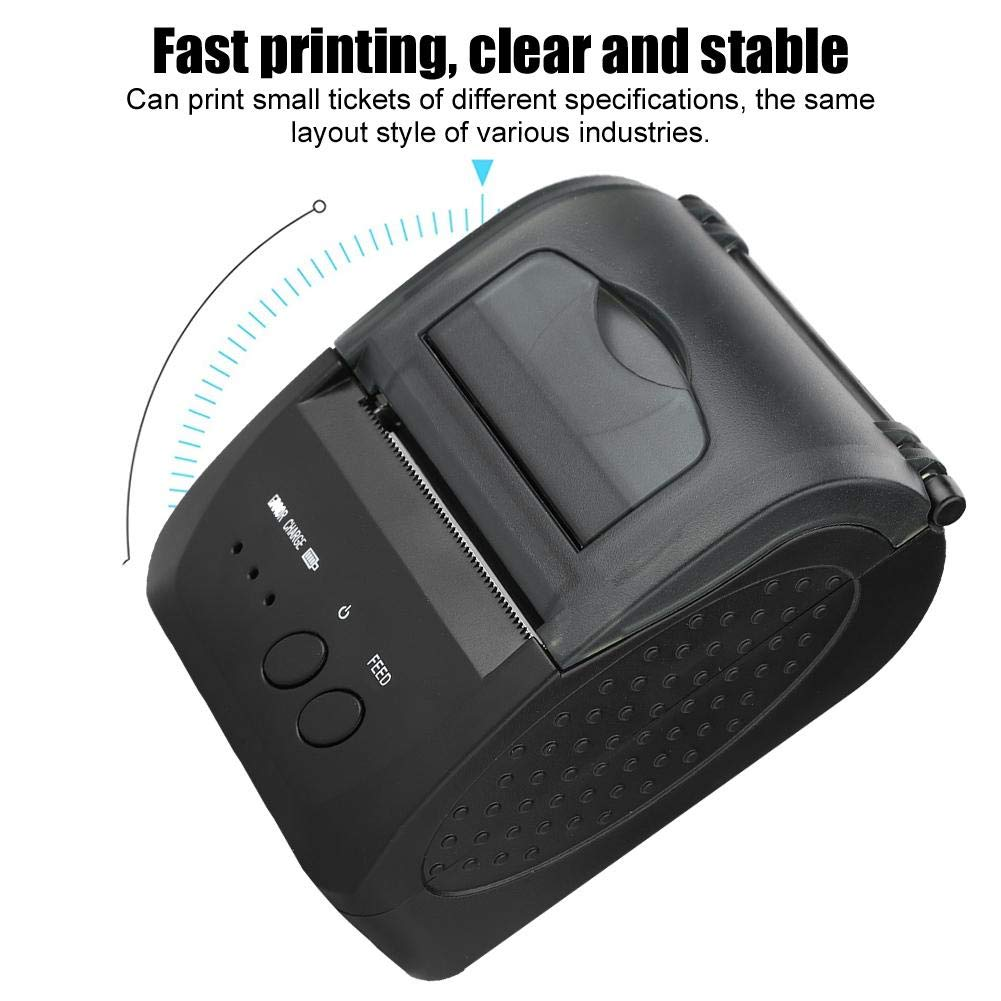 5809LN Portatil Mini Impresora Térmica Bluetooth para iOS/Android ...