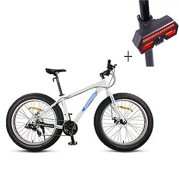 Huoduoduo Bicicleta, Bicicleta De Montaña, 26 Pulgadas De 24 De ...