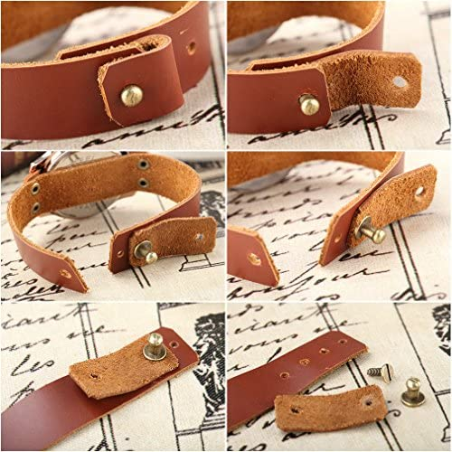 Genuine Leather Retro Piano Belt