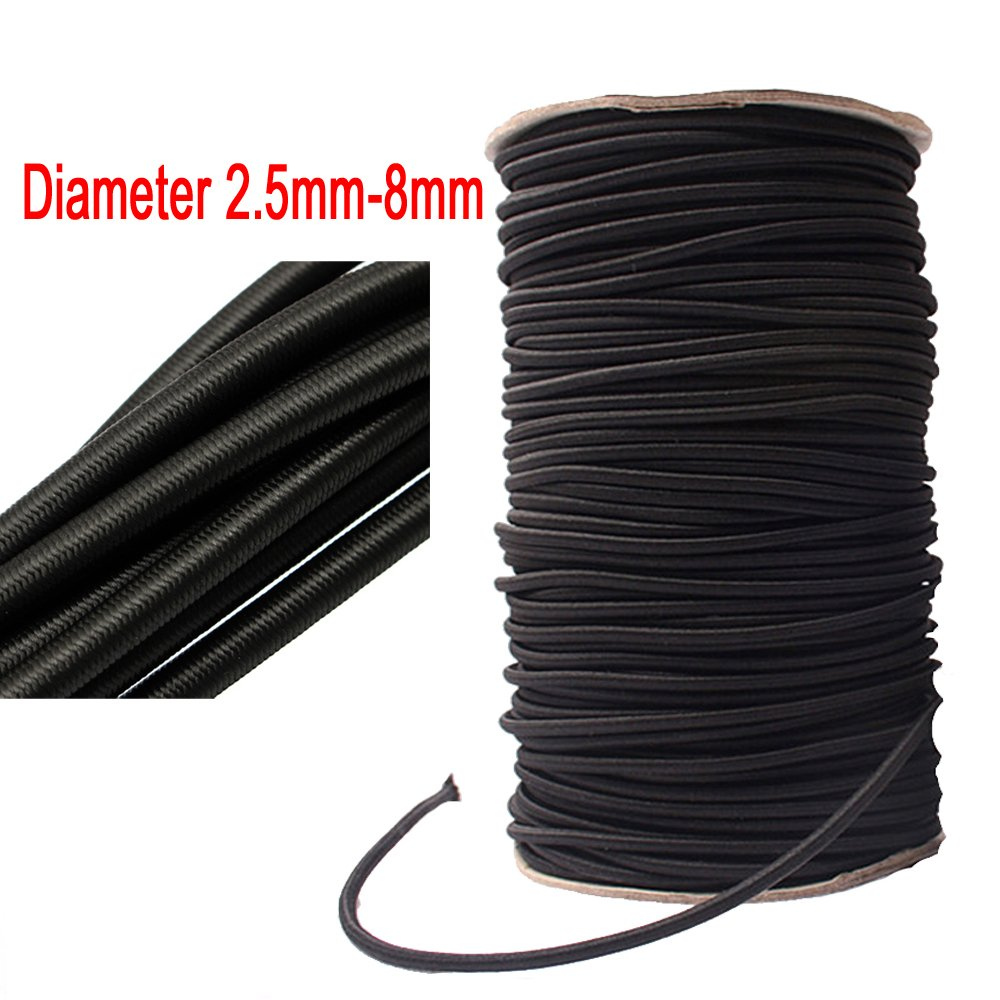 Sporting Goods 8mm Diameter White Luggage Elastic Stretchy Bungee Cord Rope Ebay Motors Various Lengths To Be Distributed All Over The World