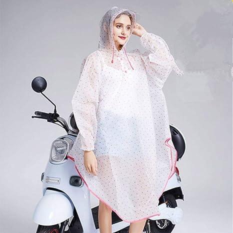 NHDYZ Chubasquero Moda Eva Transparente Impermeable Impermeable ...