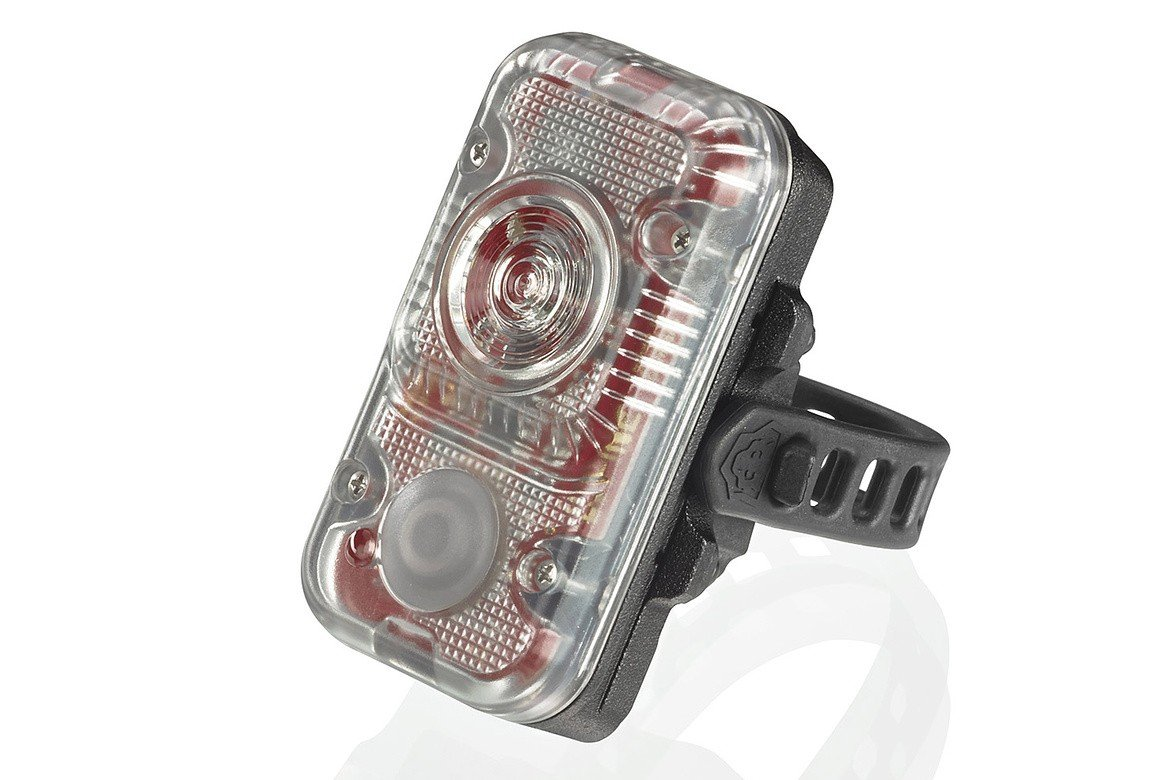 Lupine Lighting Systems Rotlicht REDLIGHT Tail-light Bright, and BRIGHTER STILL with its genius functions – With incredible 160 Lumens of red light output, this is probably the most powerful tail light with an integrated battery – Brake Light – When you brake, the built in acceleration sensor turns the light brighter to gain more attention on the streets – Brightness Sensor – for example, as a car comes closer, the light turns brighter You will not be overlooked on the streets anymore