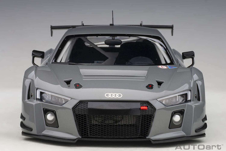 Neu AUTOart 81801-1//18 Audi R8 LMS Plain Body Version Nardo Grey