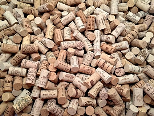 Wine Corks | Brand New Authentic All Natural | Printed WineryMarked Craft Grade | Uncirculated Uniform amp Clean | Excellent for Crafting amp Decor | Pack of 50/100/150/200 Premium Wine Corks 100