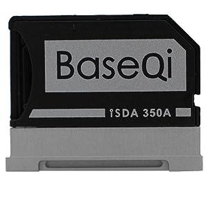 "BASEQI Aluminum MicroSD Adapter for Microsoft Surface Book & Surface Book 2 13.5"" (Model-350A)"