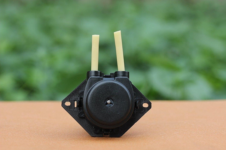 Yosoo Pompa peristaltica per acquario Accessori per pompe Piccola pompa dosatrice Multifunzioni per acquario da laboratorio