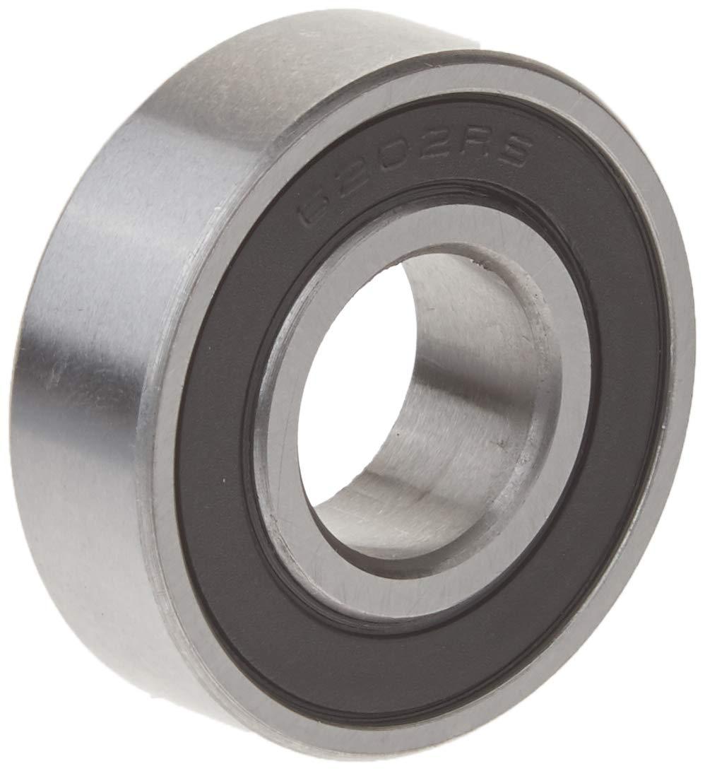 Rodamiento Cojinete de bolas de ranura profunda de reemplazo de patinaje sobre ruedas 6202RS 35x15x11mm
