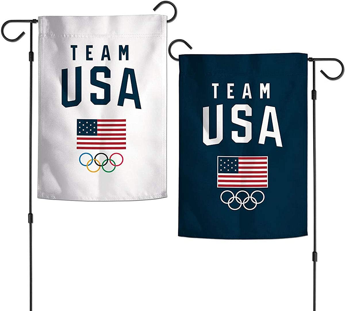 Wincraft Usoc 2 Sided Team Usa Olympic Garden Flag 74258117