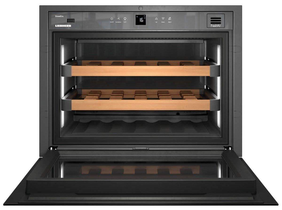 Liebherr Mini Kühlschrank Mit Glastüre : Liebherr pal wkegb grandcru weinkühlschrank einbau a