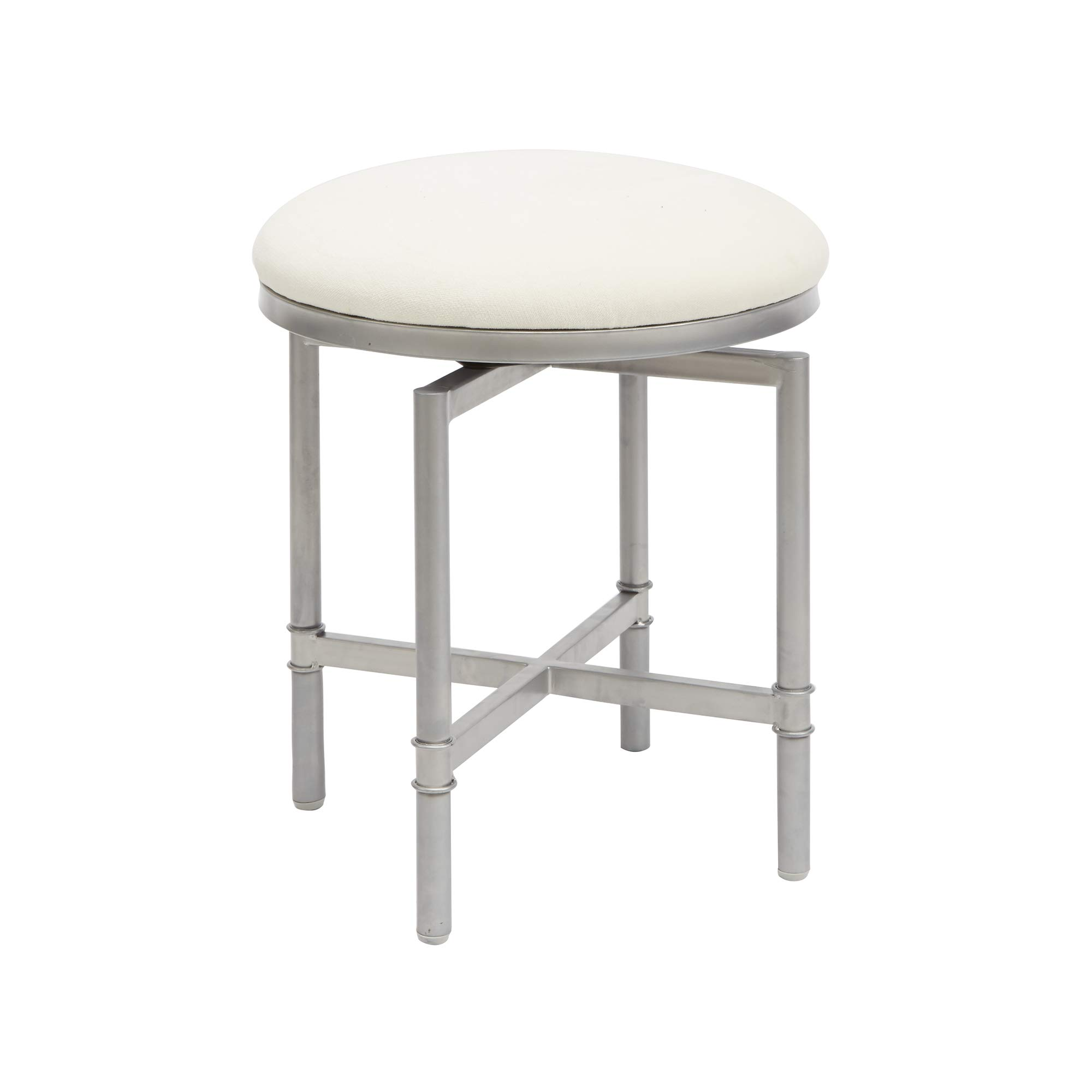 Silverwood CPFV1142 Vanity Bench, Nickel and Grey by Silverwood