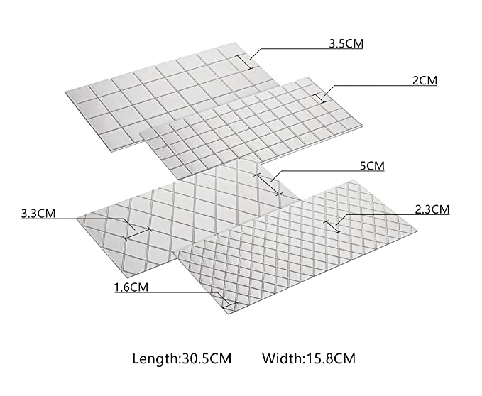 Tri/ángulo VCB Almohadilla de Escote Anti Arrugas en el Pecho Breastge Arrugas Almohadilla de Silicona en el Pecho Transparente