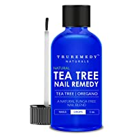 Remedy Tea Tree Oil Nail Blend with Oregano Oil - 1 Oz | EXTRA STRONG Natural Toenail Treatment | Nail Repair Kit for Infections, Athletes Foot, Thick, Dull, Discolored, Cracked, Yellow & Weak Nails