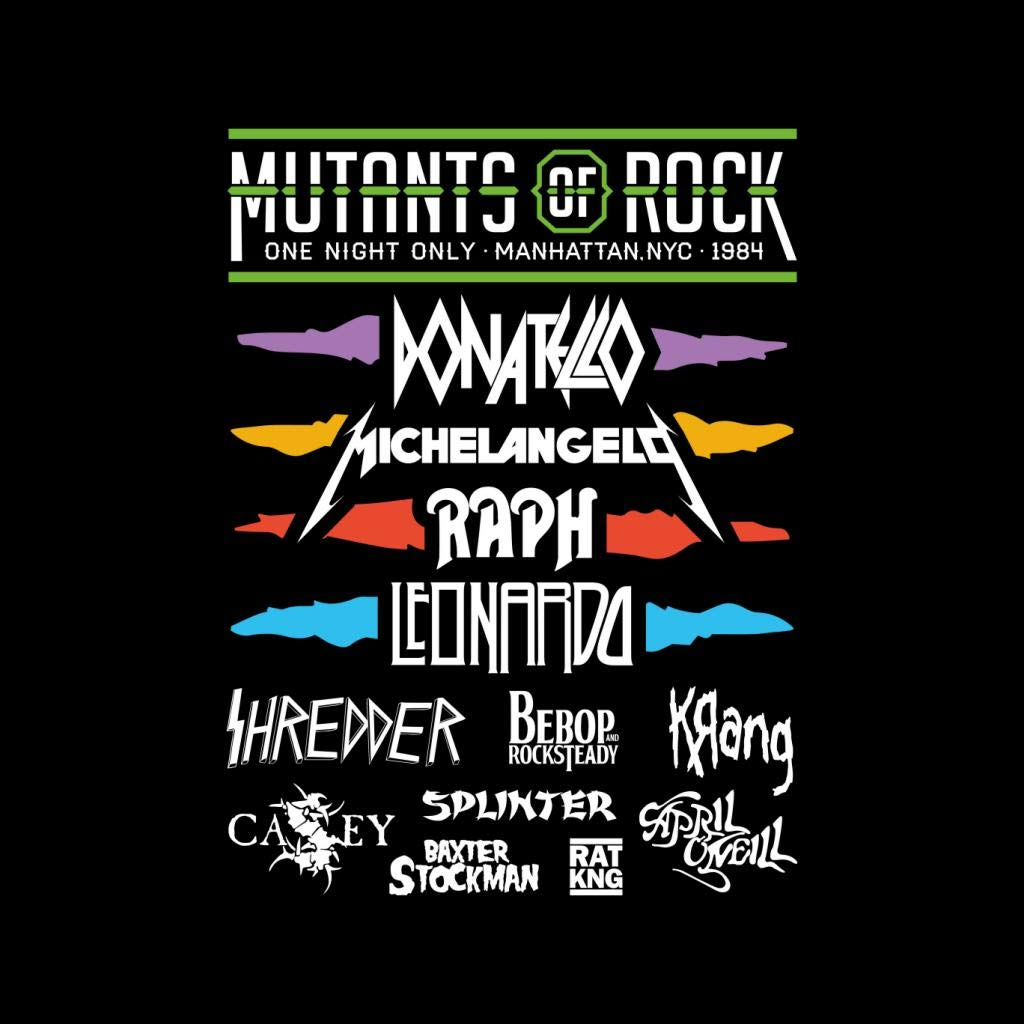 Teenage Mutant Ninja Turtles Mutants of Rock Festival Poster ...