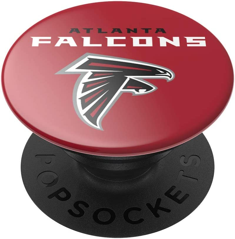 Atlanta Falcons Logo NFL PopGrip with Swappable Top for Phones /& Tablets PopSockets