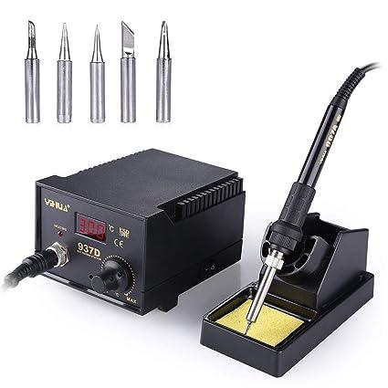 Yihua estacion de soldadura digital SMD Kit del Soldador Eléctrico 937D