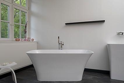 Vasca Da Bagno Ghisa : Vasca da bagno autoportante in ghisa minerale rettangolare