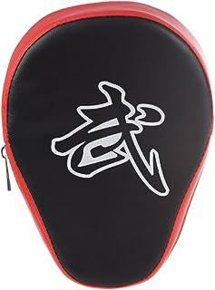 Formazione target a mano - TOOGOO(R) Focus Guantoni da boxe da allenamento per pugilato Boxing training Pad & muffole, Hook & Jab pad, kick pad, Pastiglie curve per pugliato per Allenamento di Muay Thai Kick Boxing MMA